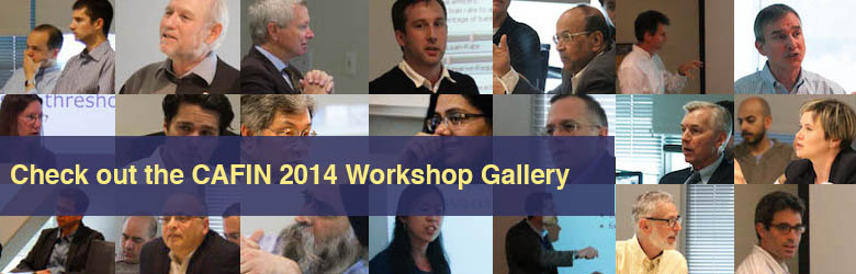 CAFIN Inaugural Workshop Gallery